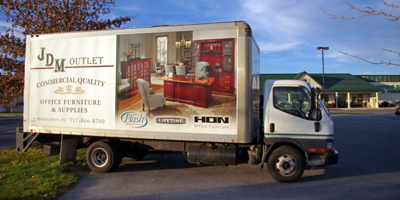 JDM Office Outlet Truck, Myerstown, PA